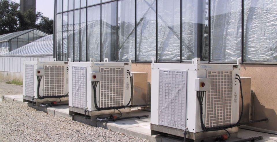 Système de ventilation extérieurd'une serre