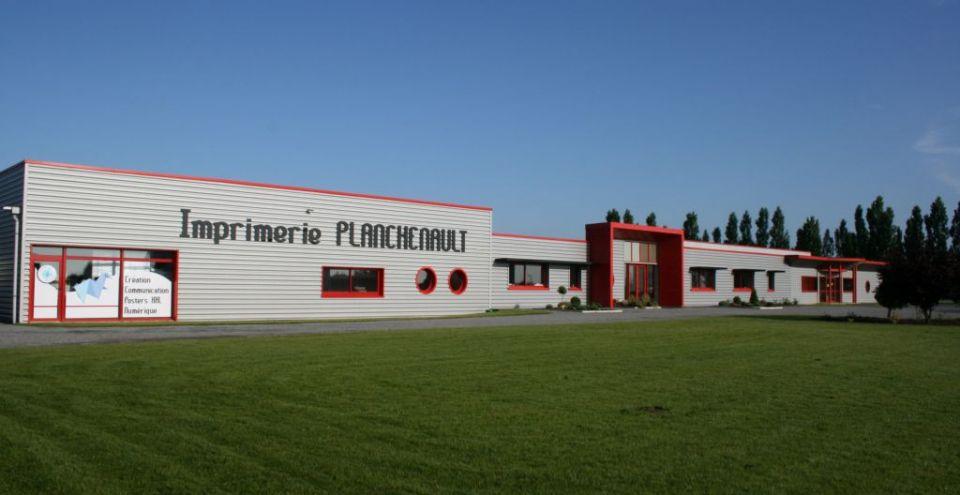 Batiment imprimerie planchenault