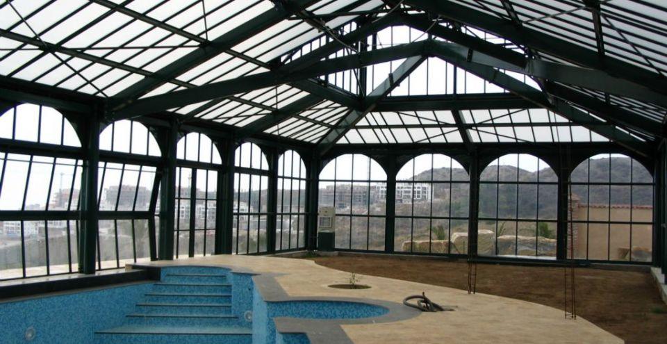 Abri de piscine Samaura