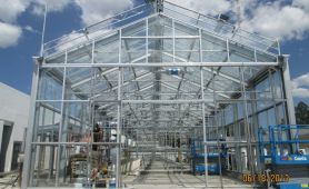 Mexico: two advanced research greenhouses situated 2 200 metres above sea level