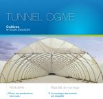 Plaquette tunnel ogive