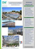 Communiqué serre Lycée Honorée de Balzac _ Nantes