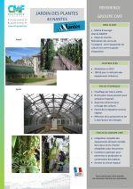 Communiqué serre du jardin des plantes _ Nantes