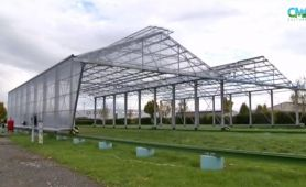 The mobile greenhouses of Arvalis Institut du Végétal