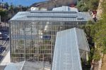 Les serres du Jardin exotique de Monaco