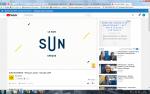 Capture d'écran Sun business
