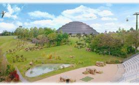 Image de synthèse dome bioclimatique de Beauval
