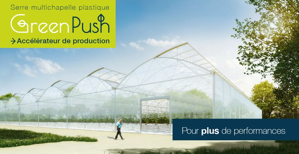 GreenPush Serre Multichapelle