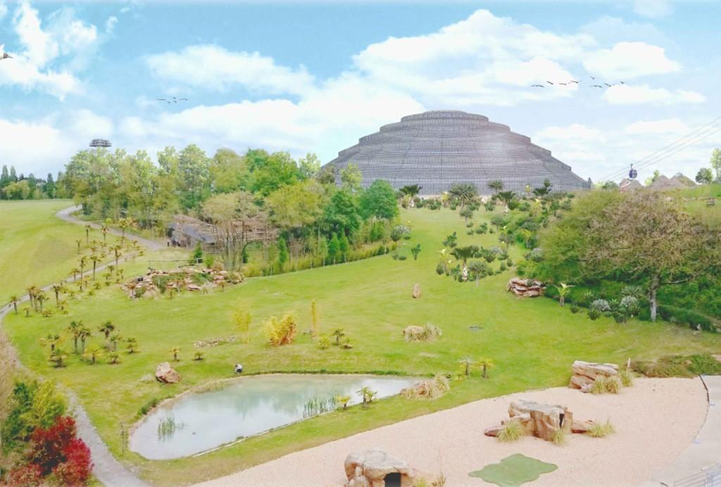 Dôme Zoo de Beauval Illustration