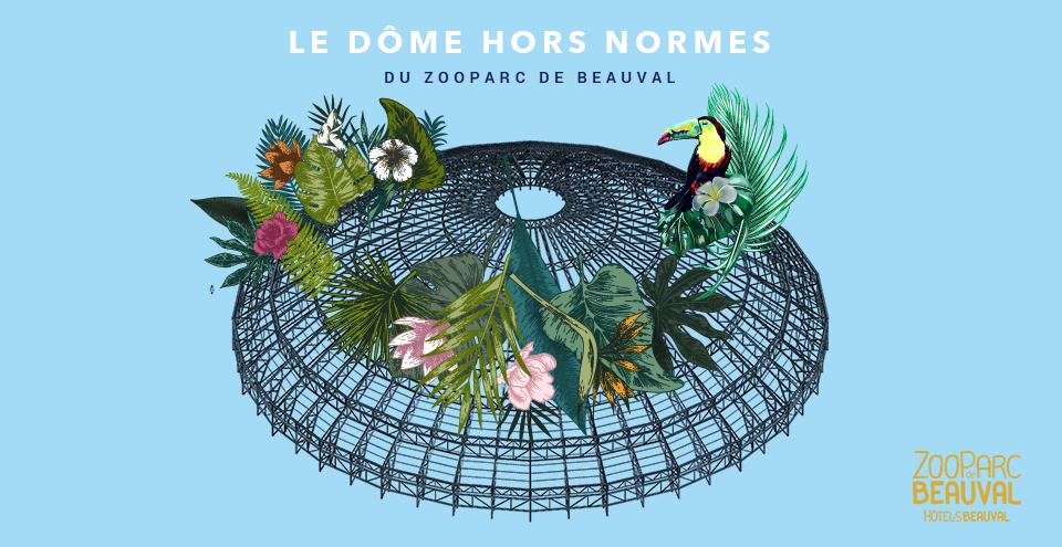 Dome du zooparc de Beauval